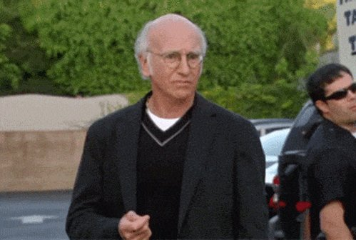 Confused Larry David GIF