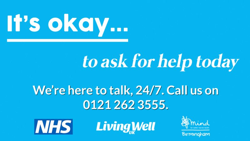 Today is #BlueMonday.  It's important to seek help early before things get to crisis point.   @bsmhft wellbeing Helpline is available to provide advice and support whenever you need it.   #TurnBlueMondayGreen #Solihull #SeenInGreen #ThisIsMeWM