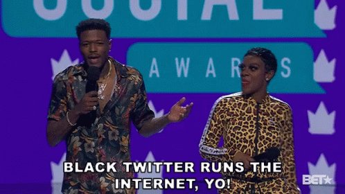#ReasonsYouJoinedTwitter  Black Twitter