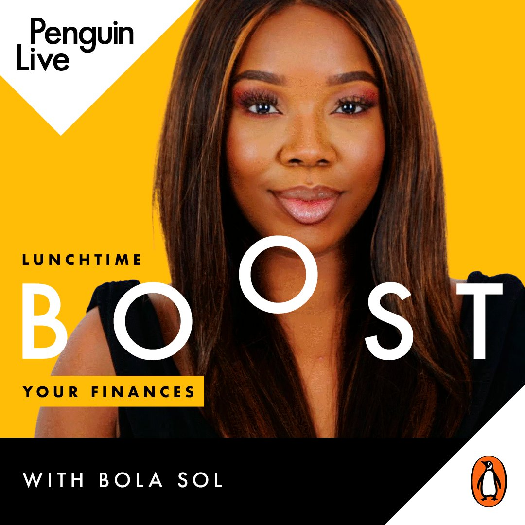 Are your lunchtimes in need of a boost? Join @penguinlive (virtually) for a series of FREE events to set you up for 2021, starting tomorrow with @Bola_Sol on how to boost your finances in 2021.  Sign up now: