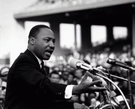 The ultimate measure of a man is not where he stands in moments of comfort and convenience, but where he stands at times of challenge and controversy. #MLKDay