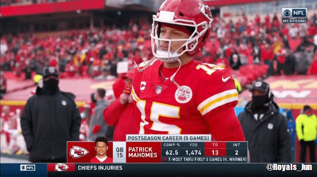 You know what? WE CAN SEE MAHOMES IN 4K MORE!!! #CHIEFSKINGDOM #RunItBack