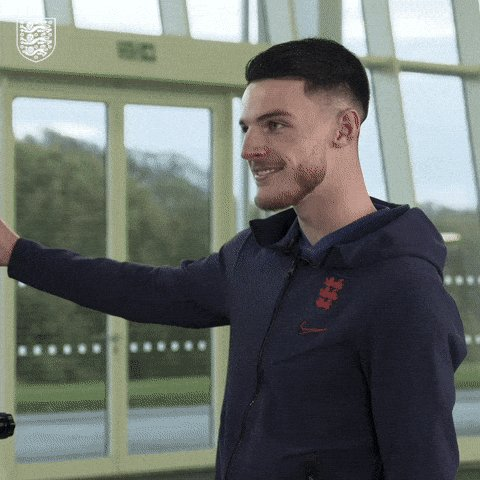 😲 @_DeclanRice is all of us...