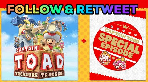 Follow CAG & Retweet for A Chance to Win a Code for Captain Toad: Treasure Tracker + Special Episode DLC Bundle (Switch). Ends 9PM ET.