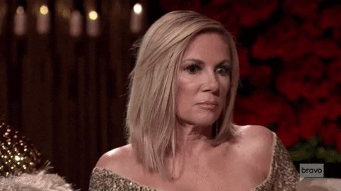 Every person on #TheBachelor when they don't get the group date rose