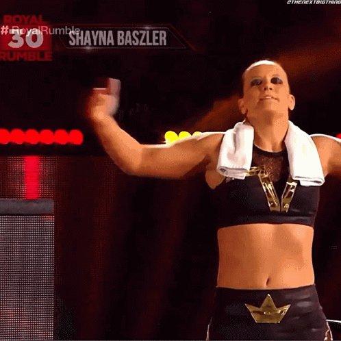 @WWE @NiaJaxWWE @QoSBaszler Shayna is awesome ! #wweraw