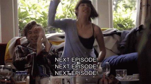 #ThisWeekWeWill binge watch new shows