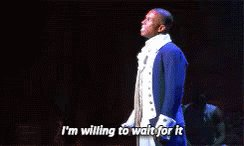 Aaron Burr: I'm willing to wait for it.