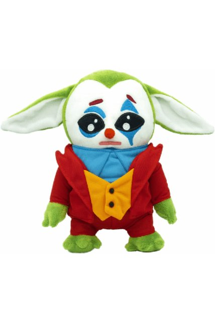 #Statoversians & #Horror fans take heed, for the previously sold out #JASDEV Plush #TheMandalorian Joker Movie crossover #TheChild Stuffed Buddy, is AGAIN available for preorder & immediate addition to your collection!!  THE STATE O' VERSE IS NOW!!