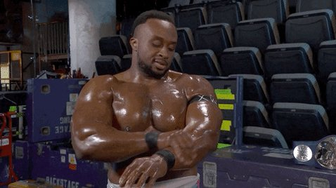 Now is the time @WWEBigE needs to show up... what do you all think? #WWERaw