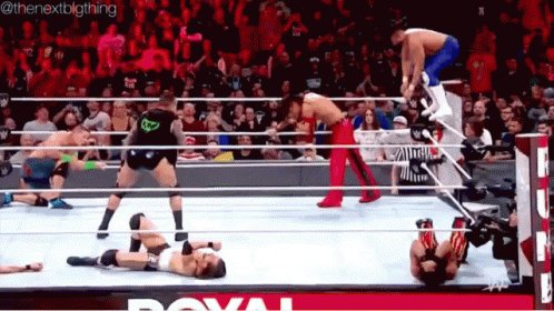 Has nothing to do with it  but JD got me rethinking a question I wanted to asked @WWE yesterday's #RAW but forgot until JD said (congregate) therefore with the #coronavirus still in affected why is there #RoyalRumble matches? When @DMcIntyreWWE has #COVID19