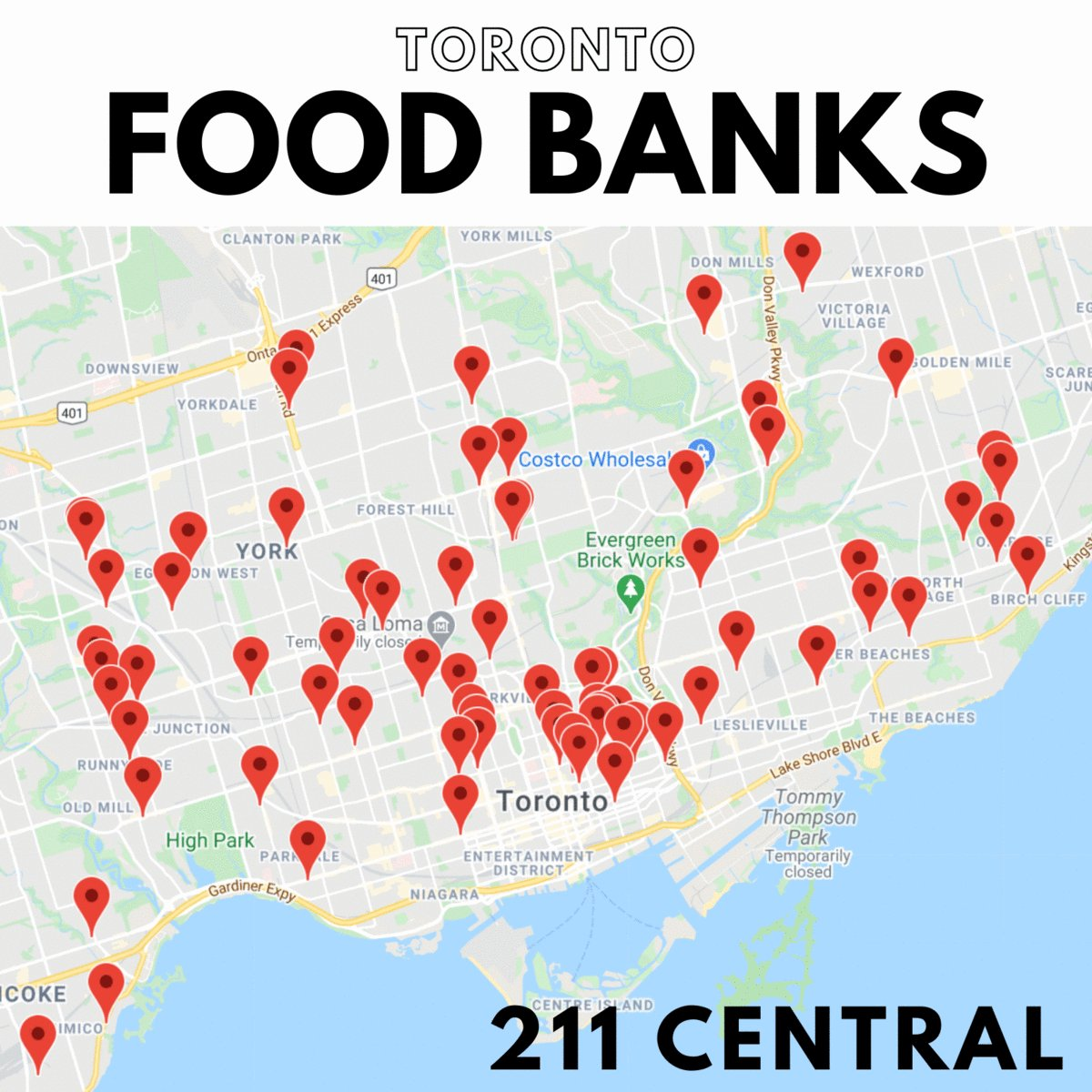 For those who need additional support right now, there's help available.  Info on food programs and food banks across Toronto are available at @211Central: .   For more City resources and support:
