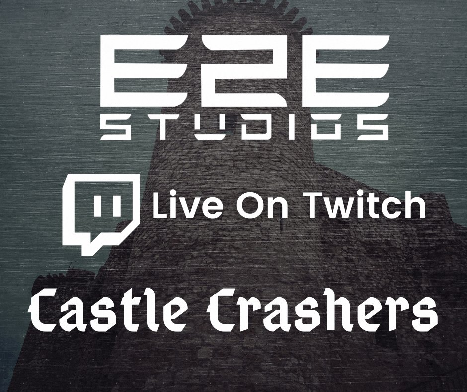 Some more Castle Crashers bursting its way through to you this evening :D   Come crash the party! 🥳  🔴We are live now!   #E2Estudios #Twitch #Livestream #video