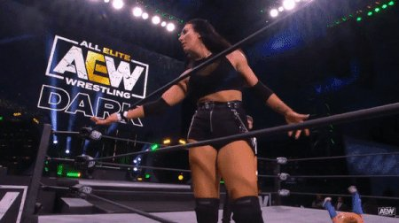 Glad we got to see more action from @TheMartiDaniels tonight on #AEWDark. Looked strong. Probably due to those WILD things in Salt Lake. Thanks @OfficialTAZ 😂. Hoping we get to see more of her in the nearest future. #TallGlassOfWhoopass #SheLooksLikeABadass #WeWantMore