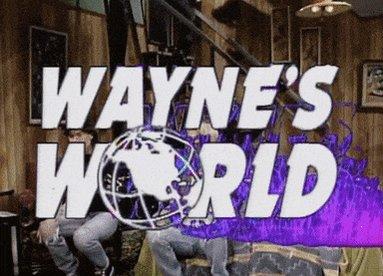#CelebrityAMovieOrShow - Please, forgive me, if another tweet offers: John Wayne's World - Thank you...