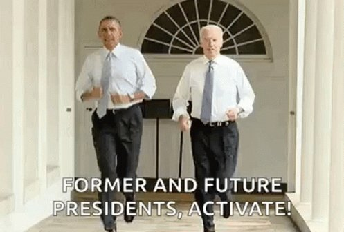 Best President is trending. We must be talking about Obama. Biden coming right up. #BidenHarrisInauguration