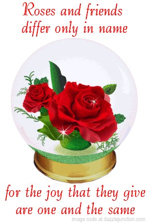 """""""Roses & friends differ only in name, for the #joy that they give are one & the same.""""  @LoriMoreno @LoriMoreno @gerrinnesmac @LavaletteAstrid @BabyGo2014 @jill_magnussen @helensmomma @xuewu12 @RedMajid @spendharkar @kritimakhija @mibileo  #love #friends #JoyTrain #Goldenhearts https://t.co/Sm8hgYjXRP"""