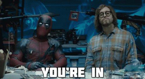 Hey @VancityReynolds @deadpoolmovie  have you gotten all the resumes yet? #Deadpool3 #XForce @MarvelStudios