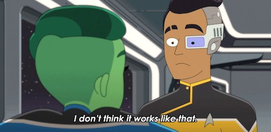 I Dont Think It Works Like That Season 1 GIF by CBS All Acce