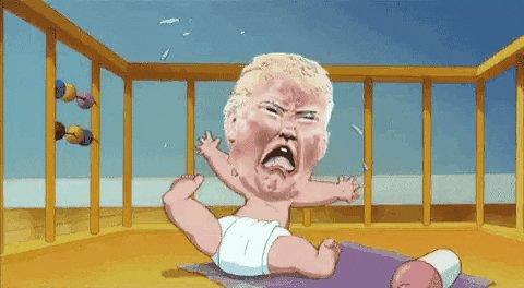 I can't stay awake anymore ... #goodbyeDonnie ya great big orange menace 🎉😂🥳 take the rest of the sideshow with ya.