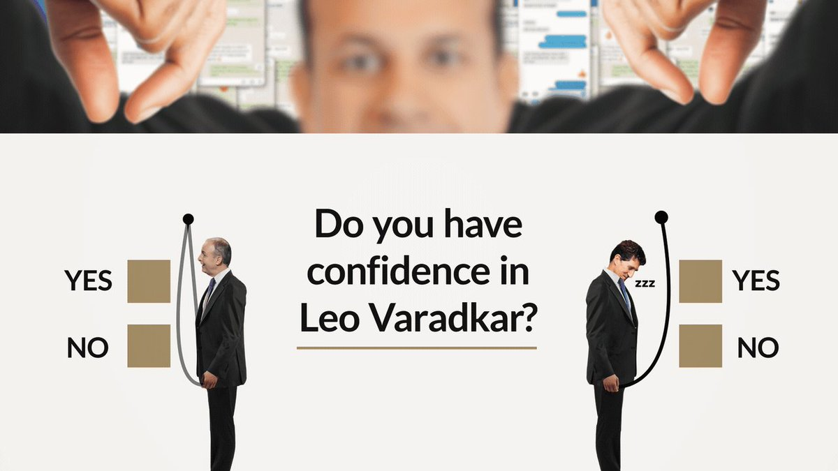 Now that we know Varadkar leaked a GP contract while the minister for health was urgently seeking a copy - does the government still have confidence in Leo?  🤔… probably. #HowIrelandWorks