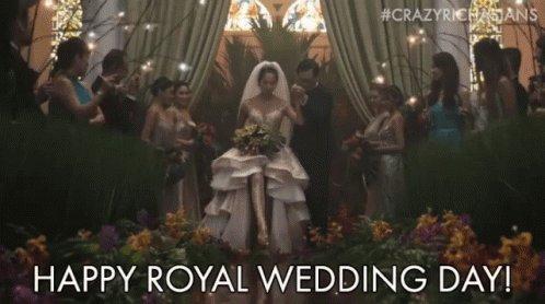 Royal Wedding Happy Royal Wedding Day GIF