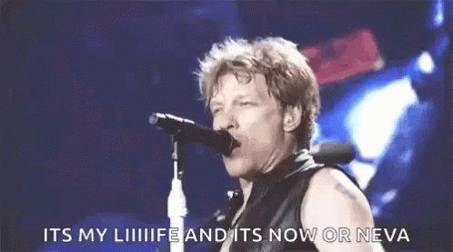 "@emtothea Petition to get @BonJovi to sing ""It's My Life"" tonight to clap back at Trump! ""Like Frankie said I did it MY WAY""! 😂 #ByeDon #BidenHarris2020 #BidenHarrisInauguration #ByeByeTrump"
