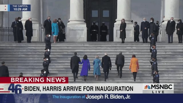 Replying to @enews: Good morning from Washington, D.C. The President and Vice President-elect have arrived. #InaugurationDay