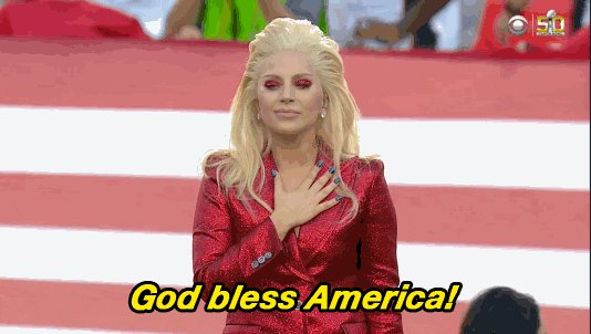 @ladygaga You're going to sing your heart out today. So proud of all you accomplished #InaugurationDay