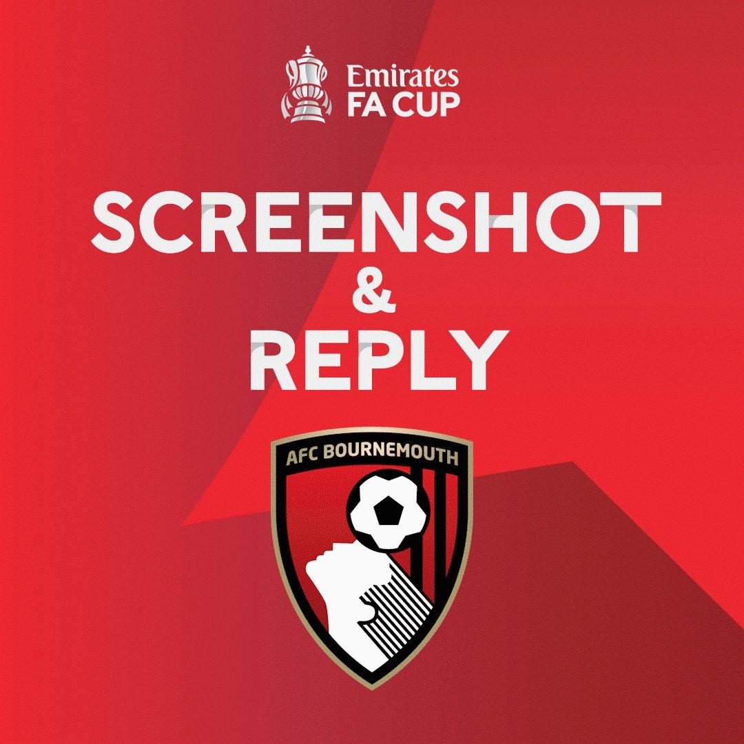 𝐒𝐜𝐫𝐞𝐞𝐧𝐬𝐡𝐨𝐭 & 𝐫𝐞𝐩𝐥𝐲 📸  A club definitely winning their #EmiratesFACup fourth round tie is: