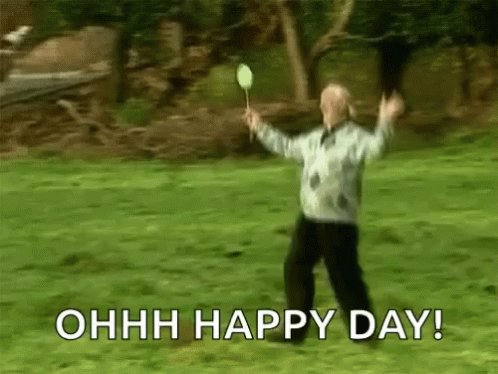 #byedonnie Ooohhh Happy Day!!!