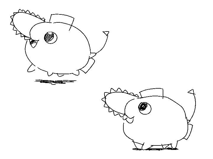 pochita doodle 😆 #chainsawman #チェンソーマン