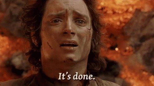 It's finally fucking over. I'm sobbing. #byedon #BidenHarrisInauguration #BidenHarris #bidenharris2020 #nomoreDonald