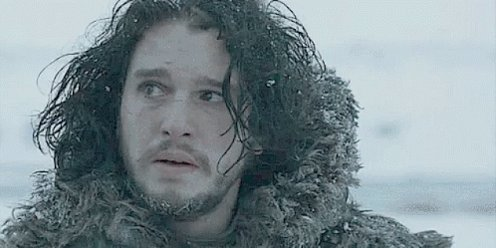 Is this the way John Snow felt after The Long Night battle was won?