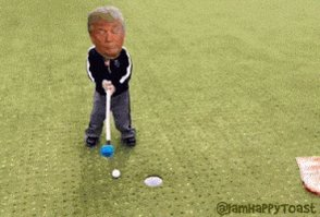 @BigManPauly Since day one hes been the lil bully kid who will take his ball. Threaten to leave the play ground if you don't  like his rules. A normal day #ByeByeTrump #ByeDon #TrumpsLastDay