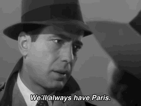 We'll always have Paris .  #ParisClimateAgreement  #PresidentBiden #Paris  #Casablanca #ExecutiveOrders