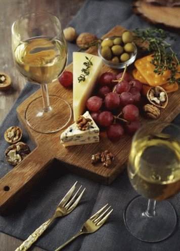 hugs @crystalchappell what's cookin' #Fit&Fine 🙌 Ooh, let's swirl n sip ❤️😘 happy Inauguration & #NationalCheeseLoversDay #Cheers