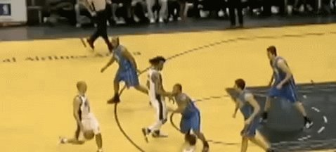 Distant Replay #OTD: 2007  @RealJasonKidd with the pass to @Rjeff24, then the pass to @mrvincecarter15 who finishes it with the tough circus layup!  #NBA #NBATwitter #TheJump #BrooklynTogether