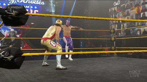 PROTECT THE #WWENXT ANNOUNCE TEAM AT ALL COSTS!   #DustyClassic @LuchadorLD @FabianAichner @TheBethPhoenix @StuBennett @VicJosephWWE