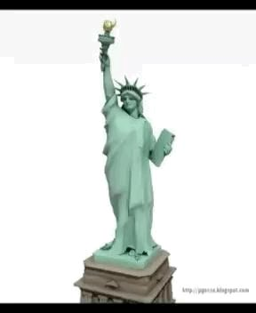 Replying to @neiltyson: Never knew that the Statue of Liberty has a happy dance.