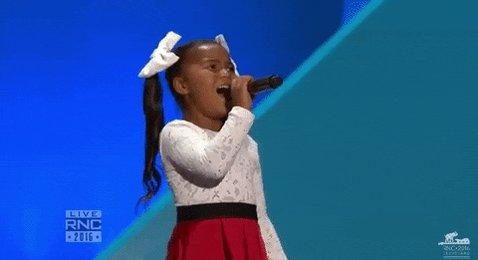 When @garthbrooks✊🏾 said sing🎤 I jumped up and did my rendition ending of #AmazingGrace!😂🤣  #Inauguration2021  @BidenInaugural👏🏾 #CelebratingAmerica