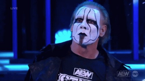 @Sting The Icon Never Gets old 😎 #AEWDynamite #AEWonTNT #AEW @AEWonTNT @AEW