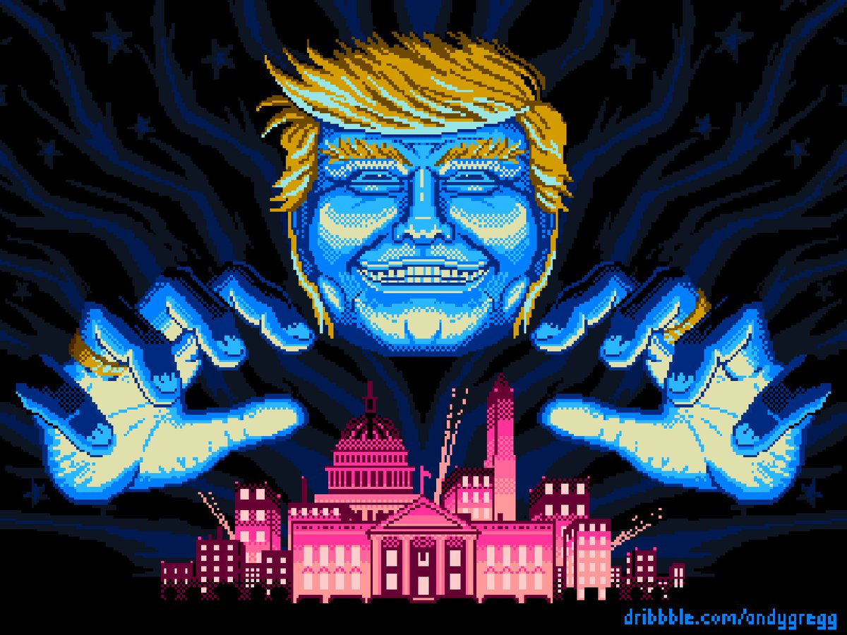 #ThingsImGonnaMissAboutTrump the definitive proof we live in a universe where reality and video games have combined.