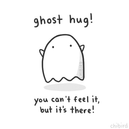 I've just discovered it's #NationalHuggingDay and noticed my feelings. 1. How odd this one feels right now 2. How much I'm missing a real hug. So here's my oft used gif instead. I'm off to give myself a butterfly hug instead 👐🏻
