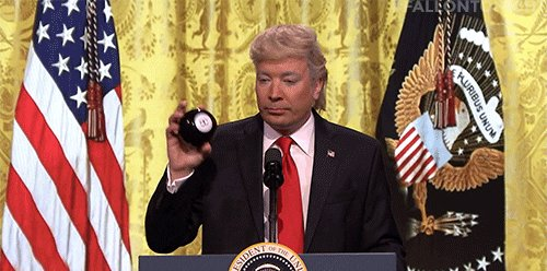 #ThingsImGonnaMissAboutTrump The amount of content he gave to late-night television personalities.
