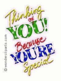 "@eldiablo0786 In case no one told you today, ""You are special!""  #GoldenHearts #LightUpTheLove #ChooseLove #Love #StarfishClub #JoyTrain #FamilyTrain #IAMChoosingLove  #ThursdayThoughts"
