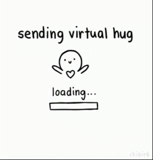 its #nationalhuggingday and lets spread some virtual hug love 🤗