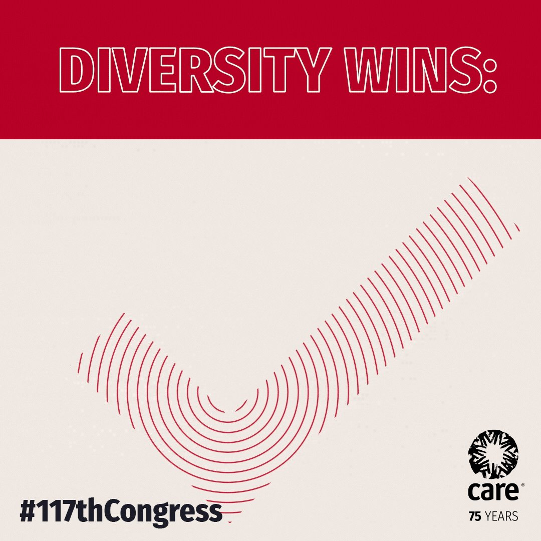 Diversity makes us stronger and more effective. We're excited to see the new U.S. Congress is more diverse than ever in history with a record number of women and LGBTQ+ people, as well as a high number of racial minorities. #117thCongress