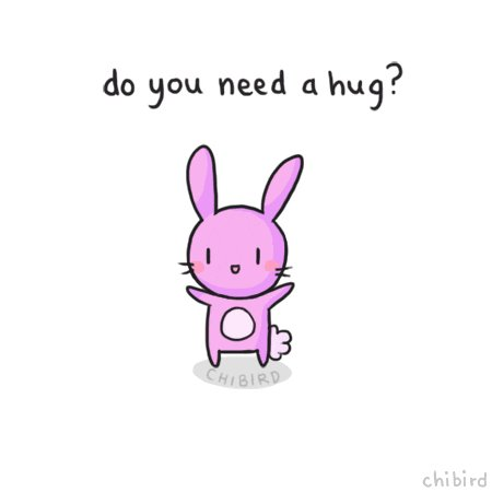 #NationalHuggingDay is really hard this year.  So many people I want to give hugs to, but can't, because...you know.  So today, if you need one, her one is
