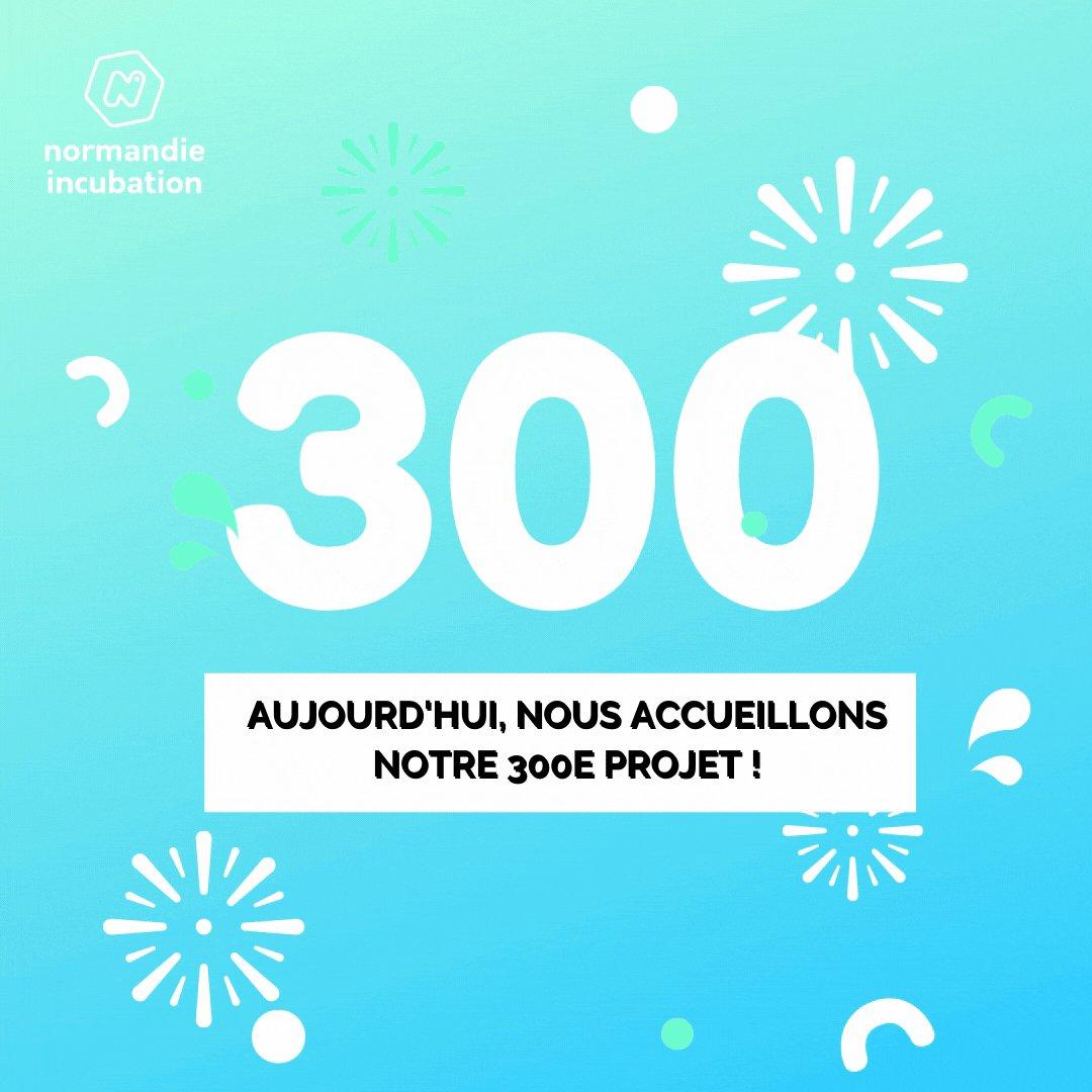 🔥300🔥 Aujourd'hui, deux nouveaux #créateurs de #startups rejoignent l' #incubateur ! Nous voilà donc à 301 #projets accompagnés en 20…
